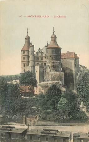 """CPA FRANCE 25 """"Montbéliard, vue du  chateau"""""""