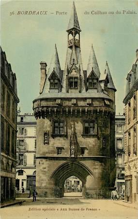 """CPA FRANCE 33 """"Bordeaux, Porte du Cailhau"""""""