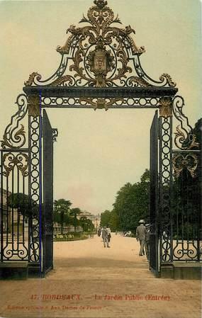 """CPA FRANCE 33 """"Bordeaux, le Jardin Public"""""""