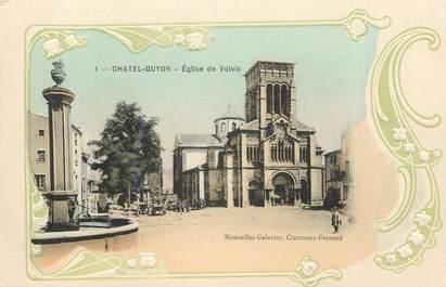 """CPA FRANCE 63 """"Chatelguyon, Eglise de Volvic"""""""