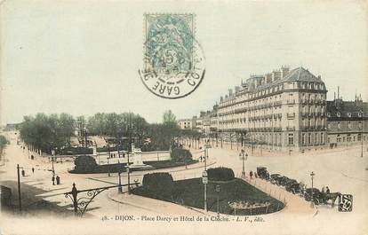 "CPA FRANCE 21 ""Dijon, Place Darcy"""