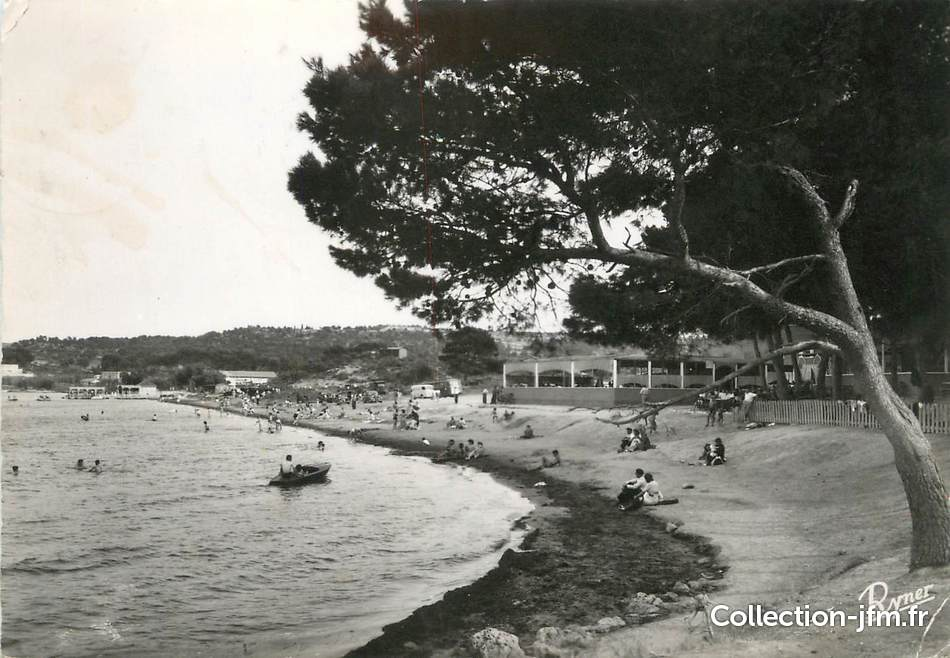 Cpsm france 13 istres varage plage le grand casino for Bouches du rhone 13