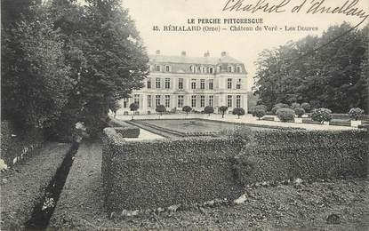 """/ CPA FRANCE 61 """"Rémalard, château de Voré""""  / PRECURSEUR, avant 1900"""