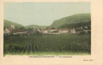 """CPA FRANCE 21 """"Chambolle Musigny, vue générale"""""""