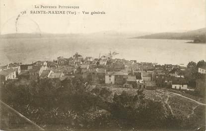 """/ CPA FRANCE 83 """"Sainte Maxime, vue générale"""" / PRECURSEUR, avant 1900"""