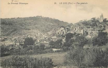 """/ CPA FRANCE 83 """"Le Luc, vue générale"""" / PRECURSEUR, avant 1900"""