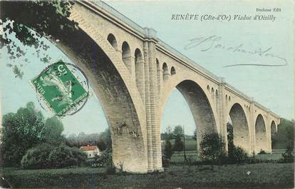 "CPA FRANCE 21 ""Renève, Viaduc d'Oisilly"""