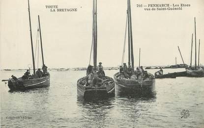 """/ CPA FRANCE 29 """"Penmarch, les Etoes vus de Saint Guénolé"""" / PRECURSEUR, avant 1900"""