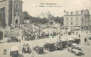"""35 Ille Et Vilaine / CPA FRANCE 35 """"Dinard, la sortie de la messe"""" / PRECURSEUR, avant 1900"""