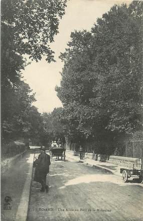"""/ CPA FRANCE 35 """"Dinard, une allée au parc de la Malouine"""" / PRECURSEUR, avant 1900"""