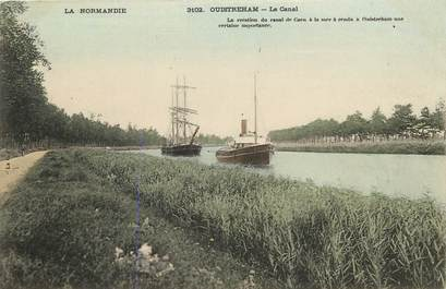 """CPA FRANCE 14 """"Ouistreham, le canal"""""""