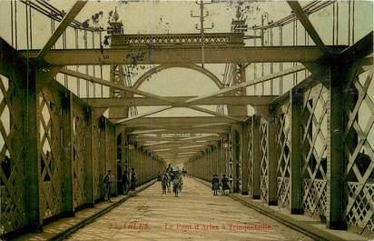 "CPA FRANCE 13 ""Arles, le pont d'Arles à Trinquetaille"""