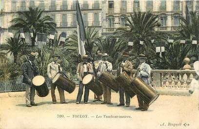 "CPA FRANCE 83 ""Toulon, les Tambourinaires"""