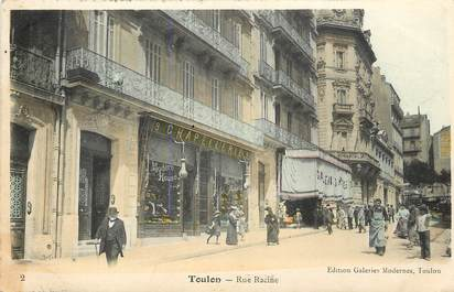 "CPA FRANCE 83 ""Toulon, rue Racine"""
