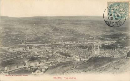 """/ CPA FRANCE 48 """"Mende, vue générale"""" / PRECURSEUR, avant 1900"""