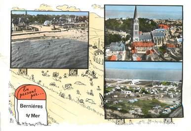 """/ CPSM FRANCE 14 """"Bernières sur Mer"""""""