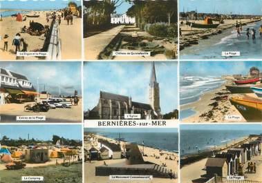 """/ CPSM FRANCE 14 """"Bernières sur Mer """""""