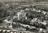 """14 Calvado / CPSM FRANCE 14 """"Falaise, vue aérienne, le château et les remparts"""""""