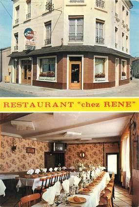 """/ CPSM FRANCE 14 """"Falaise, restaurant chez René"""""""