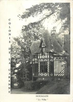 """/ CPSM FRANCE 14 """"Houlgate, colonie de la Garenne"""""""