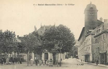 "/ CPA FRANCE 38 ""Saint Marcellin, le collège"""