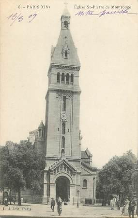 """/ CPA FRANCE 75014 """"Paris, église Saint Pierre de Montrouge"""""""