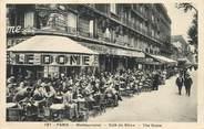 """75 Pari / CPA FRANCE 75014 """"Paris, Montparnasse, café du Dôme"""""""