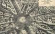 """/ CPA FRANCE 75008 """"Paris, panorama de la place de l'étoile"""""""
