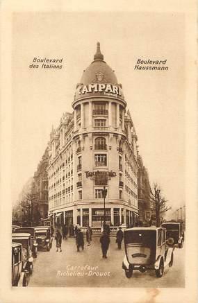 """/ CPA FRANCE 75009 """"Paris, carrefour Richelieu Drouot"""""""