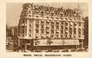 """75 Pari / CPA FRANCE 75009 """"Paris, hôtel Royal Haussmann"""""""