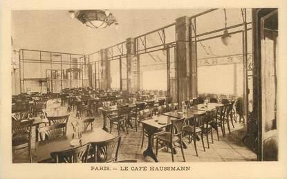 """/ CPA FRANCE 75009 """"Paris, le Café Haussmann """""""