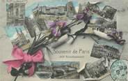 """75 Pari / CPA FRANCE 75013 """"Souvenir de Paris"""""""