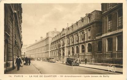 """/ CPA FRANCE 75016 """"Paris, la vue du quartier"""""""