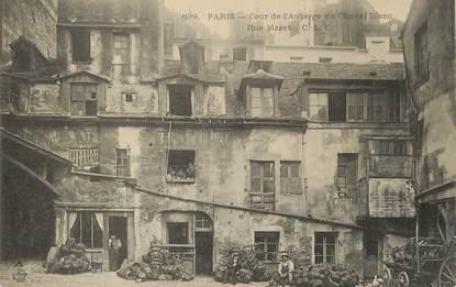 """/ CPA FRANCE 75006 """"Paris, cours de l'auberge du cheval Blanc, rue Mazet"""""""