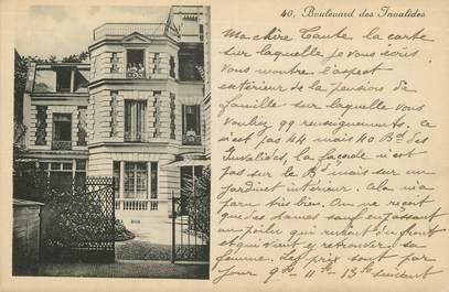 """/ CPA FRANCE 75007 """"Paris, bld des Invalides """""""