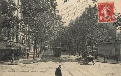 """/ CPA FRANCE 75007 """"Paris, boulevard Latour Maubourg"""""""