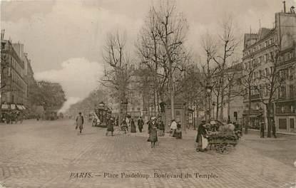"""/ CPA FRANCE 75011 """"Paris, place Pasdeloup"""""""