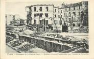 """75 Pari / CPA FRANCE 75016 """"Paris, maisons d'Auteuil bombardée par l'armée de Versailles"""""""