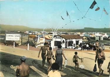 "/ CPSM FRANCE 14 ""Villers sur Mer"" /  CAMPING"