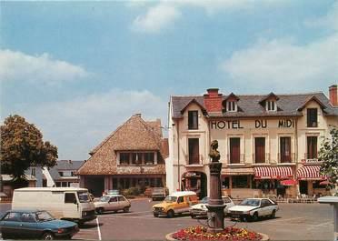 """/ CPSM FRANCE 15 """"Arpajon sur Cere, le centre avec la mairie"""""""