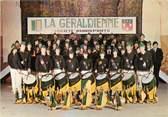 """15 Cantal / CPSM FRANCE 15 """"Aurillac, La Geraldienne"""" / FANFARE"""