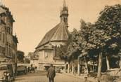 """15 Cantal / CPSM FRANCE 15 """"Aurillac, église Notre Dame aux neiges"""""""