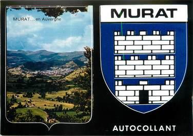 "/ CPSM FRANCE 15 ""Murat"" / AUTOCOLLANT"