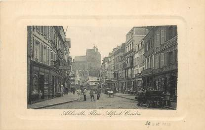 """/ CPA FRANCE 80 """"Abbeville, rue Alfred Cendre"""""""