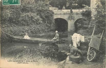 """/ CPA FRANCE 77 """"Lizy sur Ourcq, pont du filoir """""""