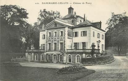 """/ CPA FRANCE 77 """"Dammarie Les Lys, château de Farcy"""""""