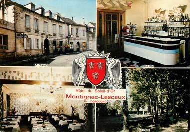 """CPSM FRANCE 24 """"Montignac Lascaux, Hotel du Soleil d'Or"""""""