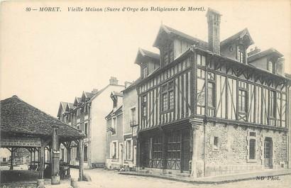 """/ CPA FRANCE 77 """"Moret, vieille maison"""""""