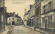 "77 Seine Et Marne / CPA FRANCE 77 ""Bray sur Seine, la grande rue"" / EDITEUR DE CARTE"
