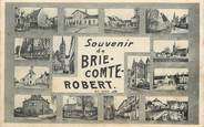 """77 Seine Et Marne / CPA FRANCE 77 """"Souvenir de Brie Comte Robert"""""""